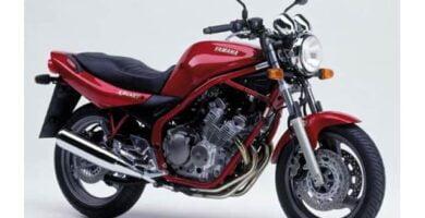Manual Moto Yamaha XJ600 Reparación y Servicio