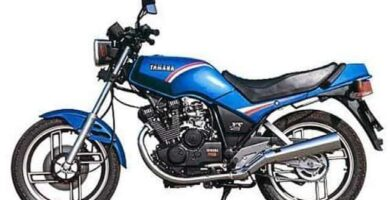 Manual Moto Yamaha XS400 1982 Reparación y Servicio