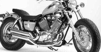Manual Moto Yamaha XV 535 1100 Reparación y Servicio
