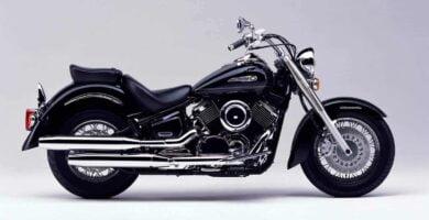 Manual Moto Yamaha XVS 1100 1999 Reparación y Servicio