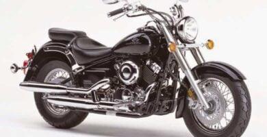 Manual Moto Yamaha XVS 650 1997 Reparación y Servicio