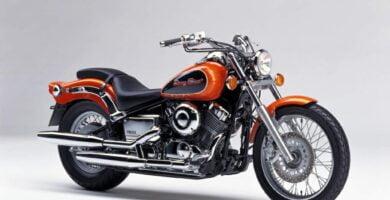 Manual Moto Yamaha XVS 650 Reparación y Servicio