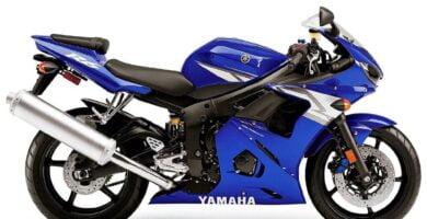 Manual Moto Yamaha YZF R6 2003 Reparación y Servicio