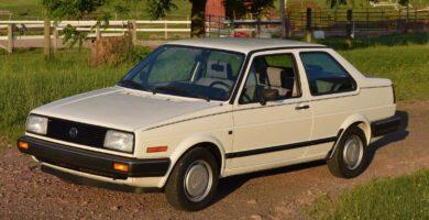 Manual Volkswagen Jetta 1987 Reparación