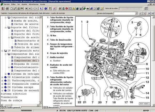Manual Volkswagen Jetta 2009 Taller y Mantenimiento de Motor, Pistones, bielas, juntas, soportes, cabeza, bujias, filtro de aire, filtro de gasolina, filtro de aceite