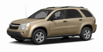 Manual Equinox 2005 Chevrolet de Taller y Mantenimiento