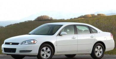 Manual Impala 2006 Chevrolet de Taller y Mantenimiento