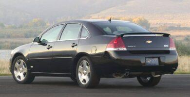 Manual Impala 2009 Chevrolet de Taller y Mantenimiento