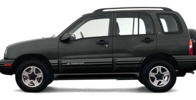 Manual Tracker 2003 Chevrolet de Taller y Mantenimiento