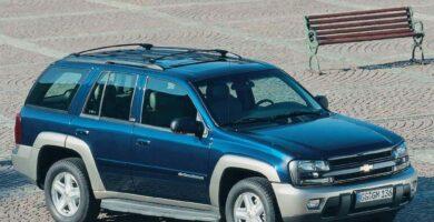 Manual Trailblazer 2002 Chevrolet de Taller y Mantenimiento