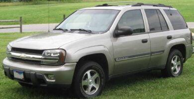 Manual Trailblazer 2003 Chevrolet de Taller y Mantenimiento