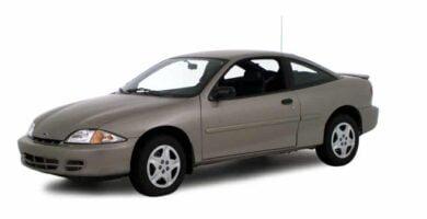 Manual Cavalier 2000 Chevrolet de Taller y Mantenimiento