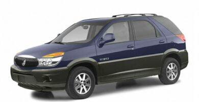 Manual Rendezvous 2003 Buick de Taller y Mantenimiento