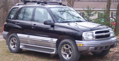 Manual Tracker 2001 Chevrolet de Taller y Mantenimiento