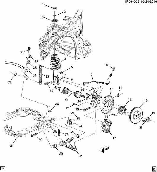 Reparar Suspensión Motor Isuzu 4ZB1-T