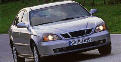 Manual Evanda 2010 Chevrolet Reparación