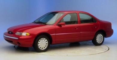 Manual CONTOUR 1995 Ford PDF de Taller y Mantenimiento