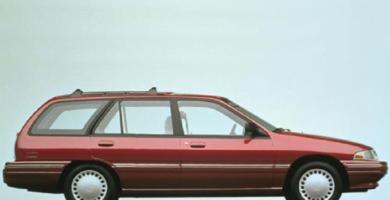 Manual TRACER 1995 Ford PDF de Taller y Mantenimiento