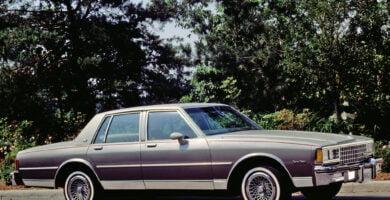 Manual CAPRICE 1980 Chevrolet PDF de Taller y Mantenimiento