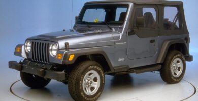 Catalogo de Partes JEEP WRANGLER 1998 AutoPartes y Refacciones
