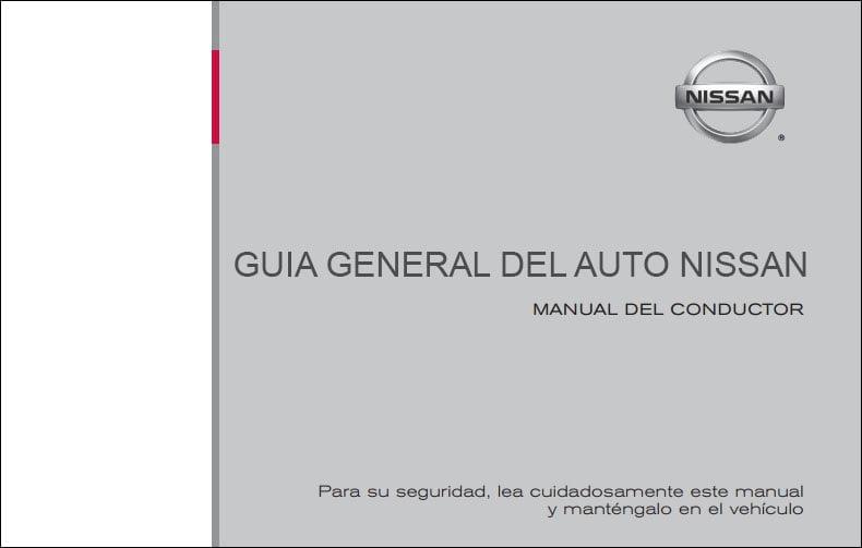 Manual de Propietario De Nissan Maxima 2011