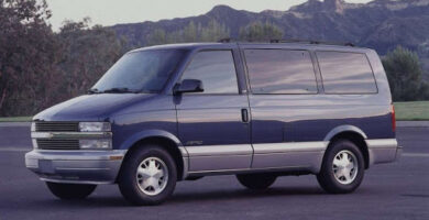 Manual de Usuario CHEVROLET Astro 1995 en PDF Gratis