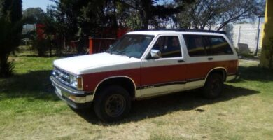 Manual de Usuario CHEVROLET Blazer 1994 en PDF Gratis