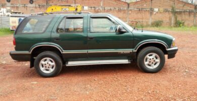 Manual de Usuario CHEVROLET Blazer 1996 en PDF Gratis