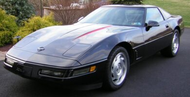 Manual de Usuario CHEVROLET Corvette 1995 en PDF Gratis