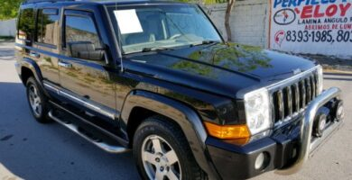 Manual de Usuario JEEP Commander 2009 en PDF Gratis