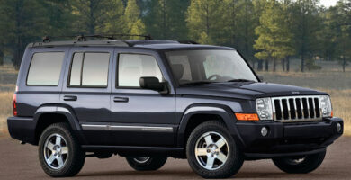 Manual de Usuario JEEP Commander 2010 en PDF Gratis