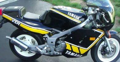 Manual de Moto Yamaha 2AL 1987 DESCARGAR GRATIS