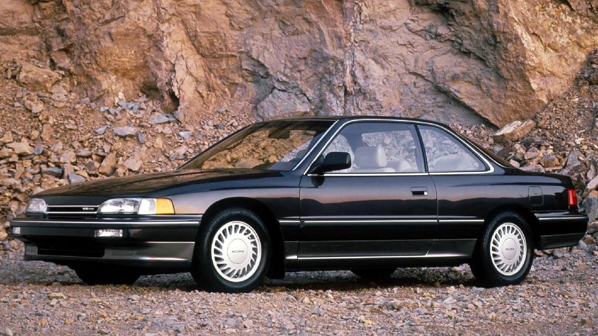 Manual Acura Legend Coupe 1990 de Propietario