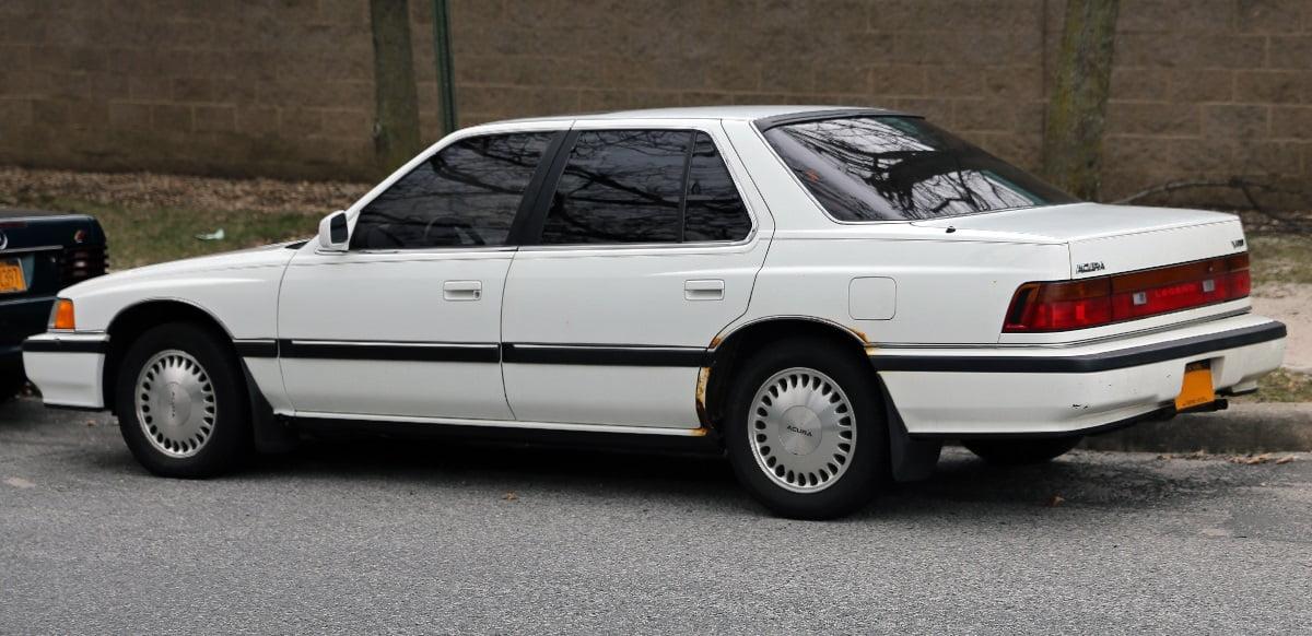 Manual Acura Legend Sedan 1990 de Propietario