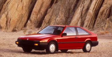 Manual Honda Civic Hatchback 1990 de Propietario