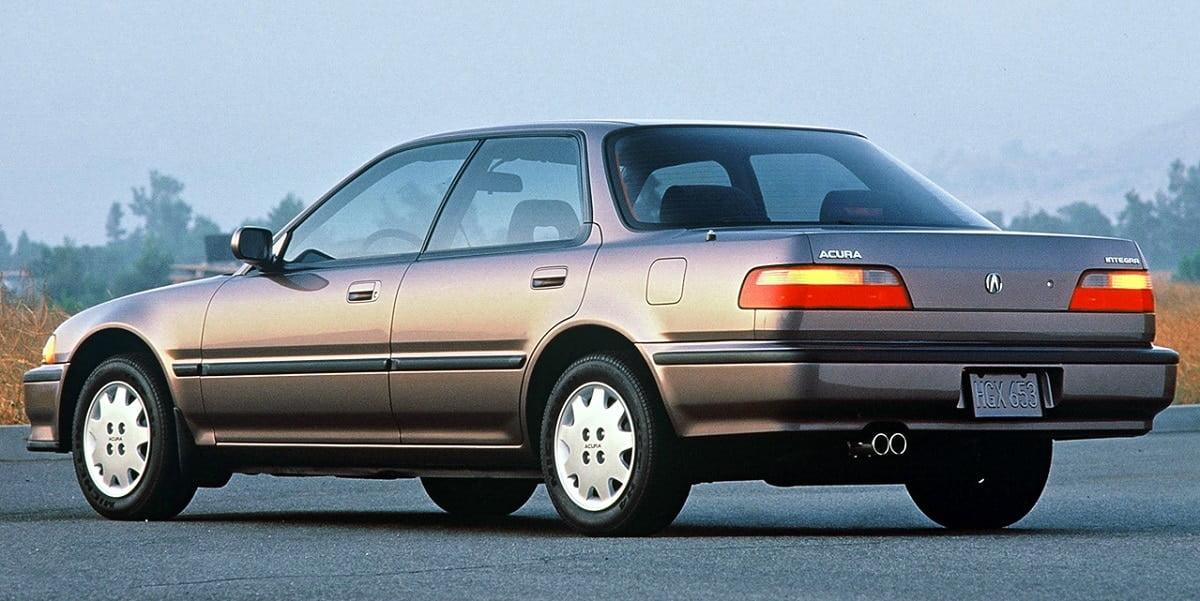 Manual Acura Integra Sedan 1991 de Propietario