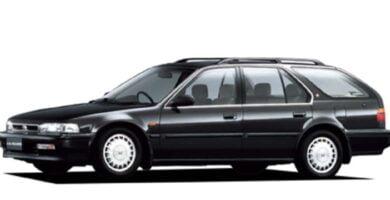Manual Honda Accord Wagon 1991 de Propietario