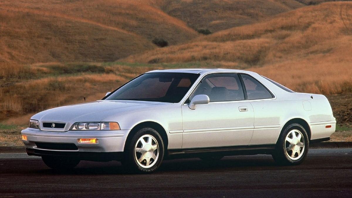 Manual Acura Legend Coupe 1993 de Propietario