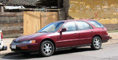 Manual Honda Accord Wagon 1995 de Propietario