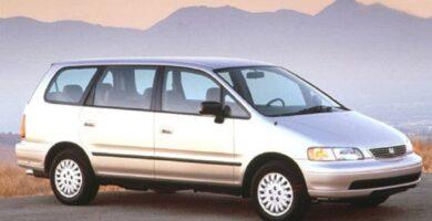 Manual Honda Odyssey 1995 de Propietario