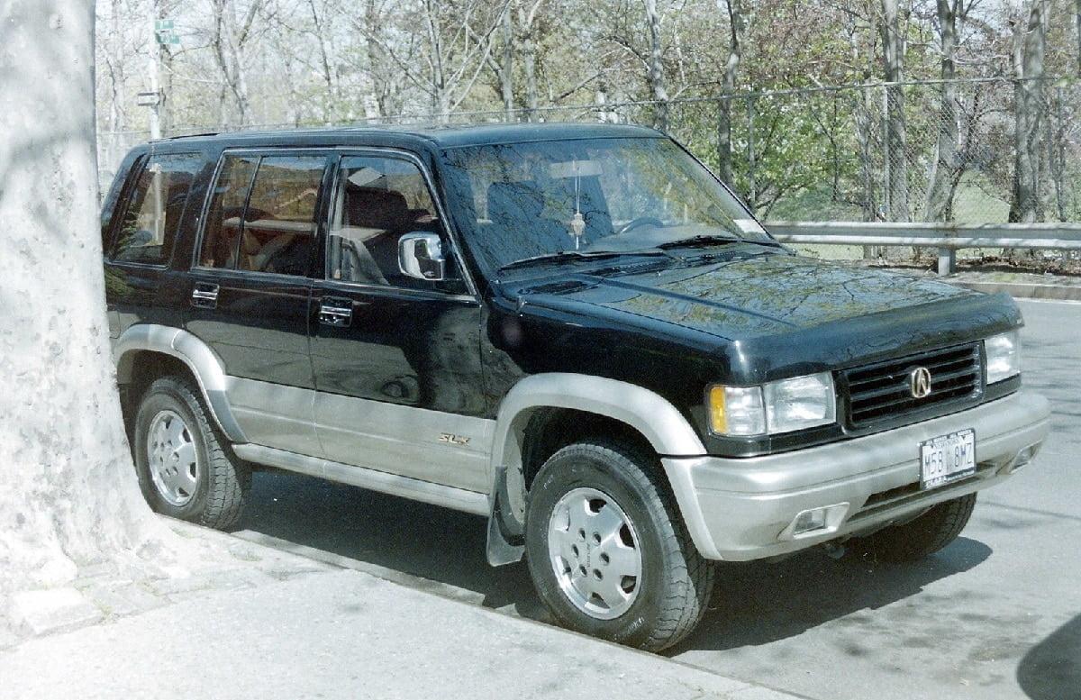 Manual Acura SLX 1996 de Propietario