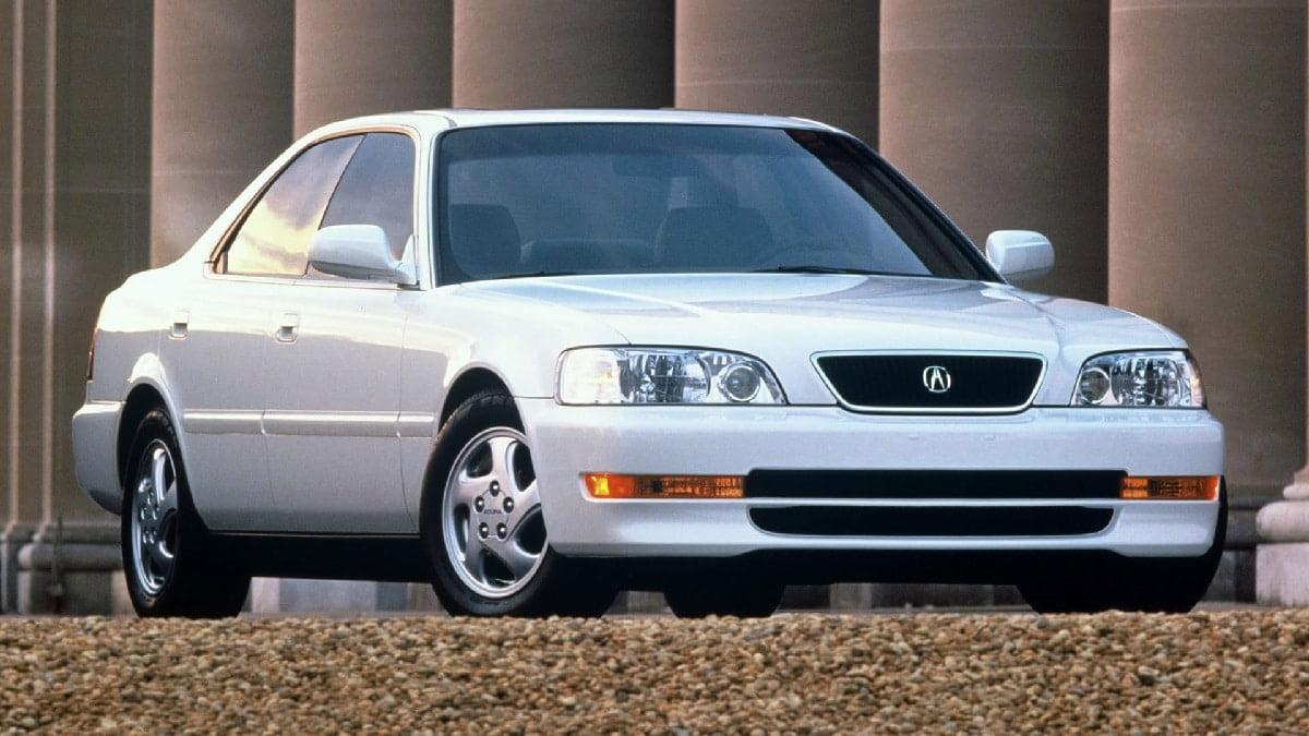 Manual Acura TL 1996 de Propietario