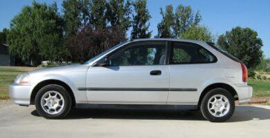Manual Honda Civic Hatchback 1996 de Propietario