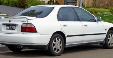 Manual Honda Accord Sedan 1997 de Propietario