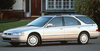 Manual Honda Accord Wagon 1997 de Propietario