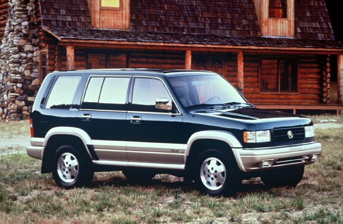 Manual Acura SLX 1997 de Propietario