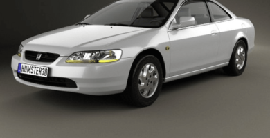 Manual Honda Accord Coupe 1998 de Propietario