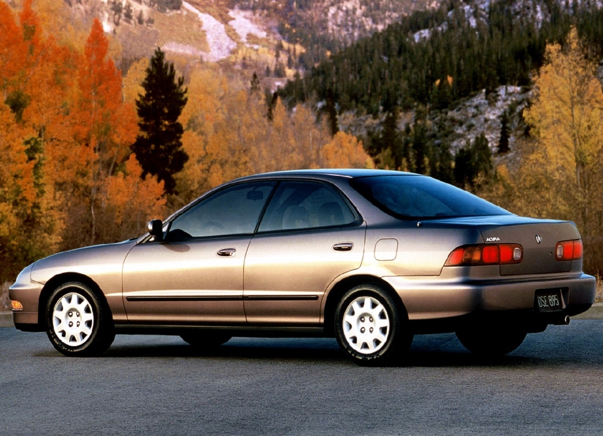 Manual Acura Integra Sedan 1998 de Propietario