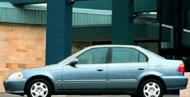 Manual Honda Civic Sedan 1999 de Propietario