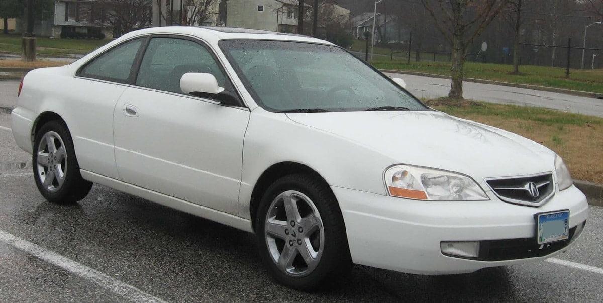 Manual Acura CL 2002 de Propietario